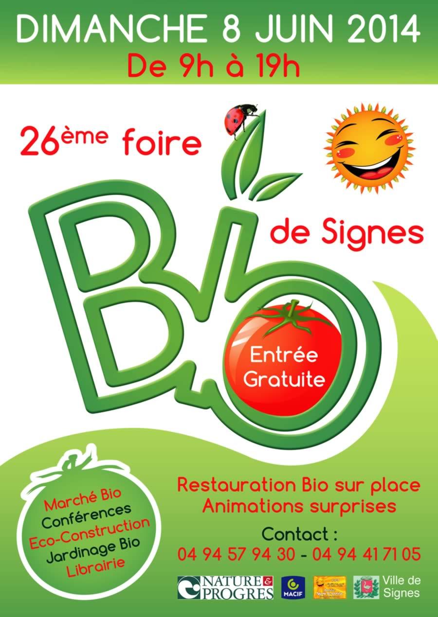 Foire Bio de Signes 2014